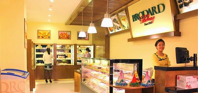 Cửa hàng bánh Brodard