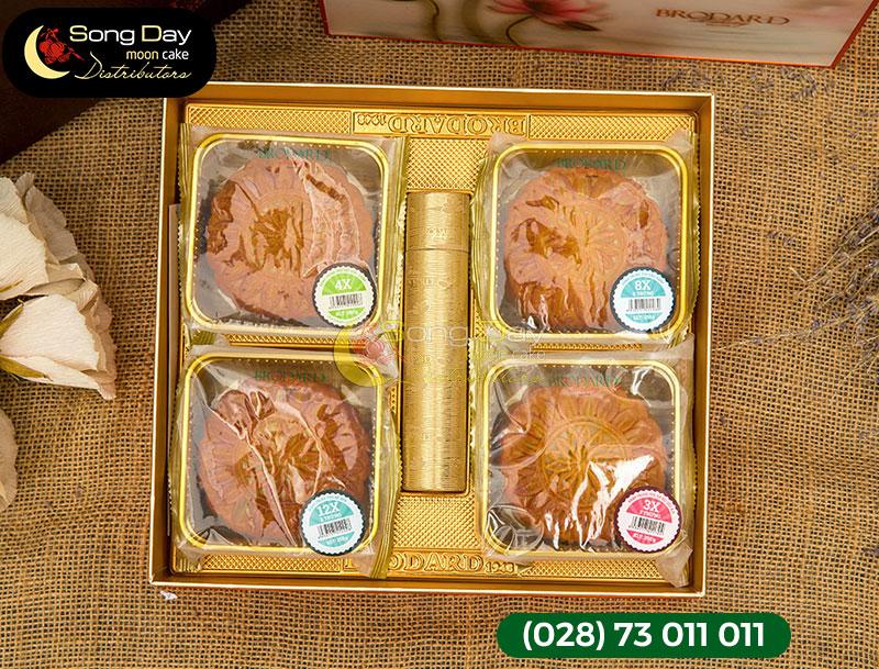 mẫu hộp bánh trung thu brodard 4 bánh 6