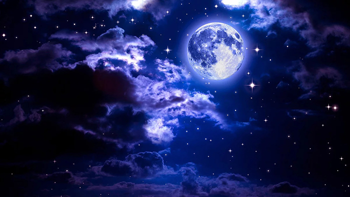 [Bộ sưu tập 2020] Tổng hợp những hình ảnh Mặt Trăng đẹp nhất 1