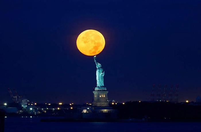 [Bộ sưu tập 2021] Tổng hợp những hình ảnh Mặt Trăng đẹp nhất 10