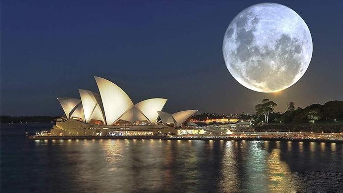 [Bộ sưu tập 2021] Tổng hợp những hình ảnh Mặt Trăng đẹp nhất 13